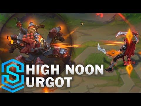 High Noon Urgot Skin Spotlight - League of Legends