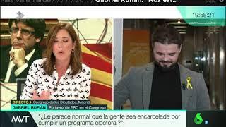 El más burro del mundo Gabriel Rufián impresentable en Má...