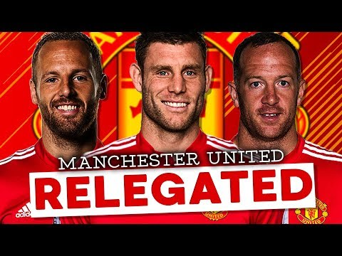 RELEGATING MANCHESTER UNITED!!! FIFA 18 Career Mode (REBUILD PARODY) - INSANE ENDING BREAKS FIFA!