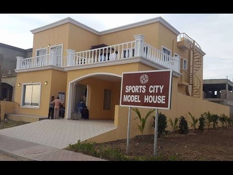 Sports City Model Villa in Bahria Town Karachi