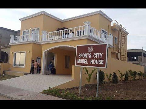 Sports City Model Villa In Bahria Town Karachi Youtube