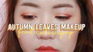 Autumn Leaves Makeup (feat. Colourpop) 2018 🍁 | thatxxRin