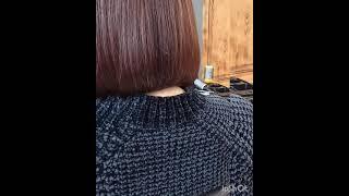 Женская стрижка градуированный Боб Women s haircut graduated Bob стрижка боб haircutbob womenhaircut