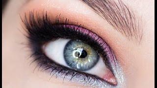 Урок свадебного макияжа для голубых глаз