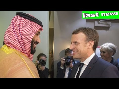 France's Macron makes surprise Saudi visit amid Lebanon crisis