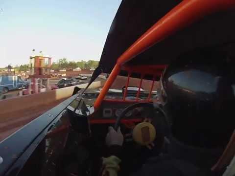 Glenn Morris Senoia Raceway hot laps