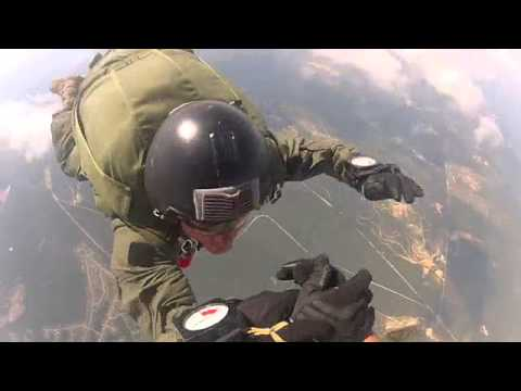 12,500ft HALO CASA Jump FT Bragg