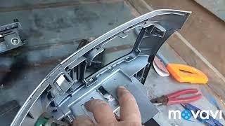 установка 2диновой магнитолы на газель бизнес-соболь