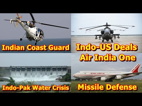 Defence Update 7th March 2020 (Part-1)| Indo-Pak Water Crisi