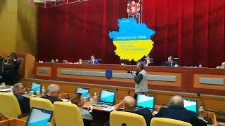 Ветераны АТО в Запорожском облсовете