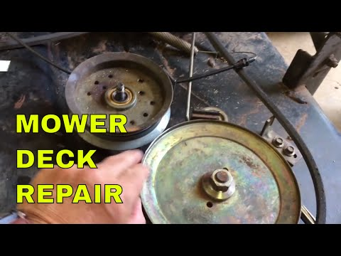 Scotts and John Deere Mower Deck Repair