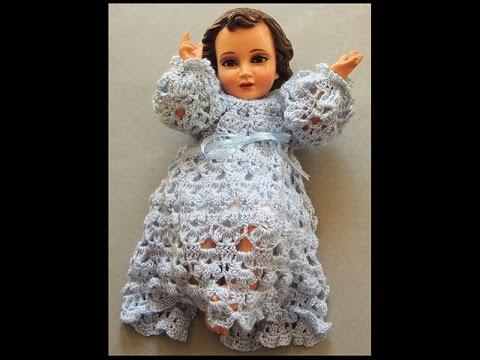Crochet Niño Jesus Canesú Parte 1 De 2
