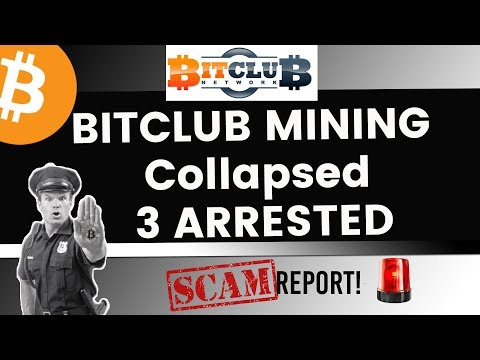 Bitclub Mining Collapsed! 3 Arrested | SCAM Report