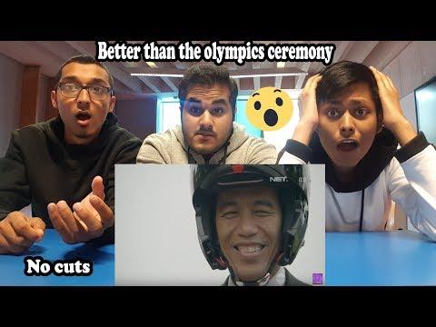 Cuplikan Kemeriahan Opening Ceremony Asian Games 2018 Reaction