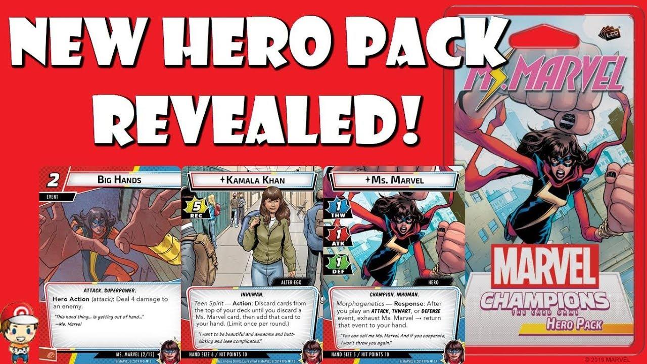 Ms Marvel Hero Pack Marvel Champions