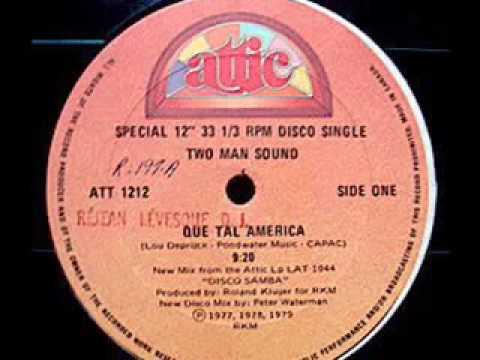 TWO MAN SOUND   Que Tal America 1979 Rare 9 20 Version