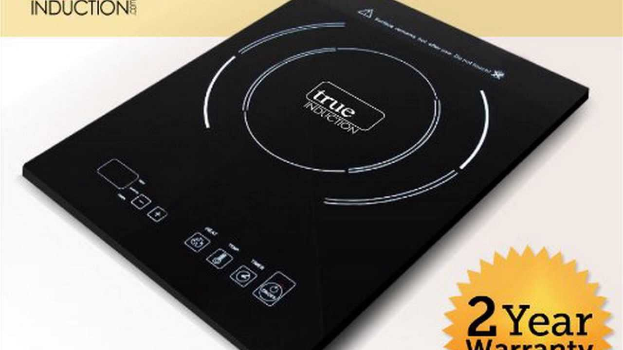 best induction cooktop true induction energy efficient. Black Bedroom Furniture Sets. Home Design Ideas