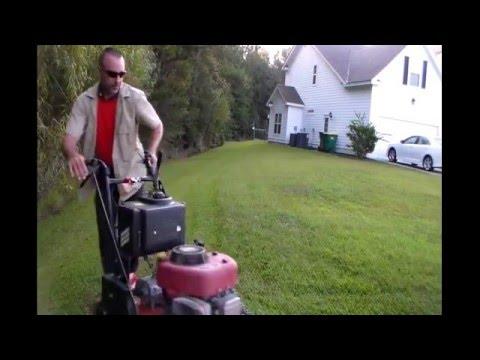 MAKE A LOT OF MONEY CUTTING GRASS - E-Z Lawn Service Set Up