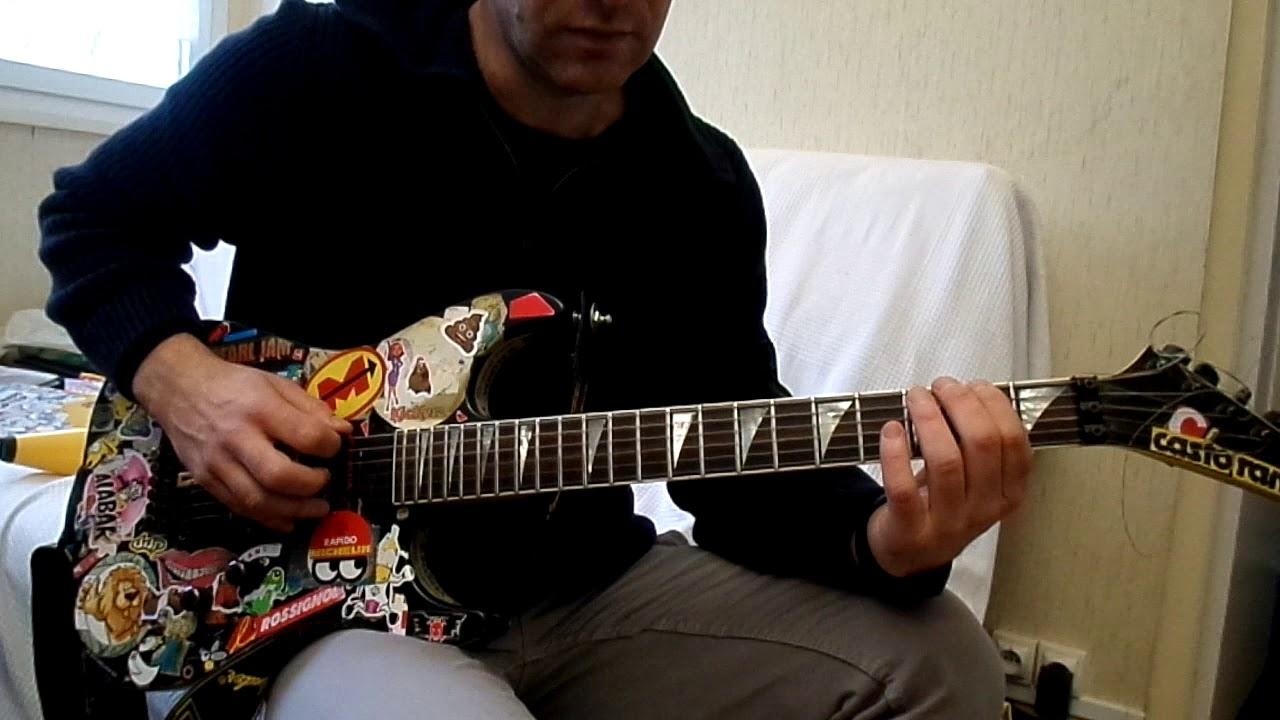 johnny hallyday l envie comment jouer tuto guitare. Black Bedroom Furniture Sets. Home Design Ideas