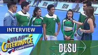 UAAP CDC Season 81: De La Salle Animo Squad   Post-Group Stunts Interview