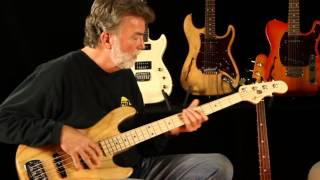 G&L USA JB-2 Bass : Demo and Tone Review with Paul Gagon