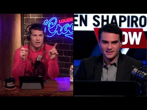 Ben Shapiro on Louder With Crowder  The Cenk Uygur Debate and Politicon 2017