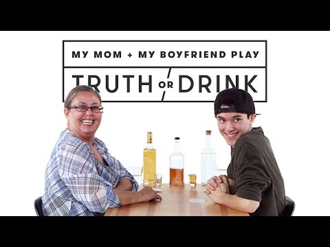 My Boyfriend & My Mom Meet for the First Time (Josh & Zandra) | Truth or Drink | Cut