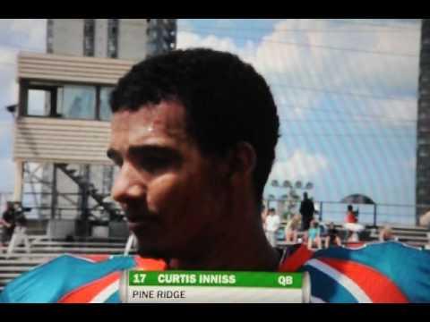 Curtis Inniss Halftime TV Interview.AVI