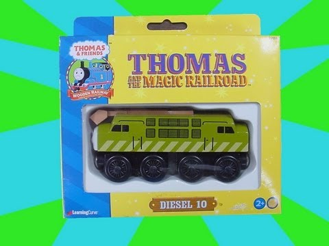 "Diesel 10 - AKA ""Pinchy"" - A Thomas The Tank Engine & Friends Wooden Railway Toy Review"