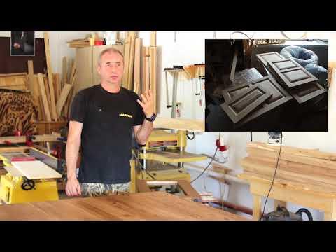 Проектируем деревянную мебель