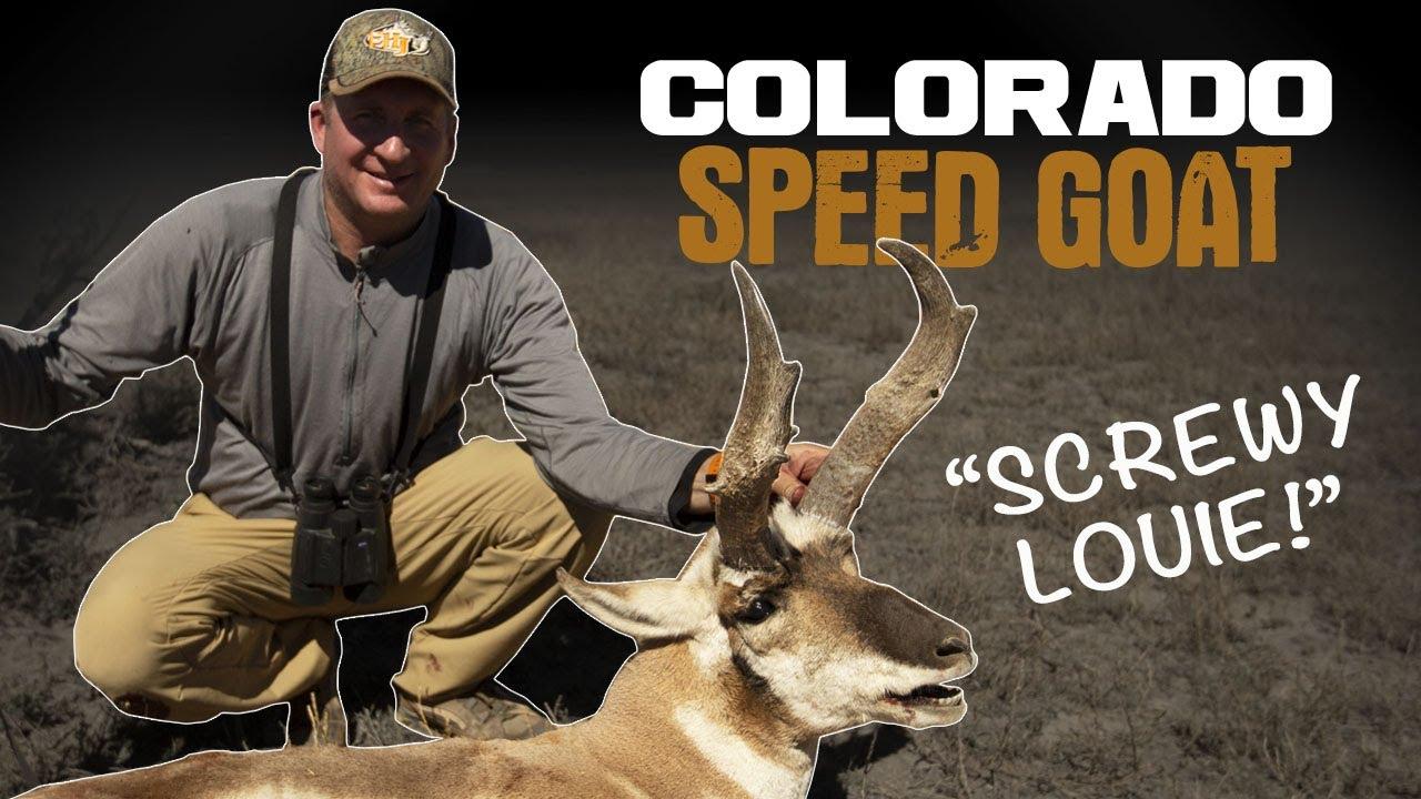 Hunting Colorado Antelope With Guy Eastman - Eastmans