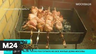 Россиянам запретят курить и готовить шашлык на балконах - Москва 24