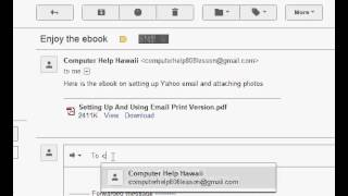 How to Attach And Forward Files and Photos in Gmail