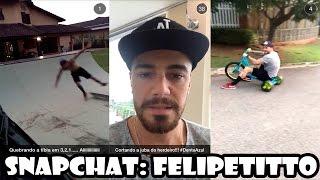 Baixar SNAPS do Felipe Titto - SNAPCHAT DOS FAMOSOS #1
