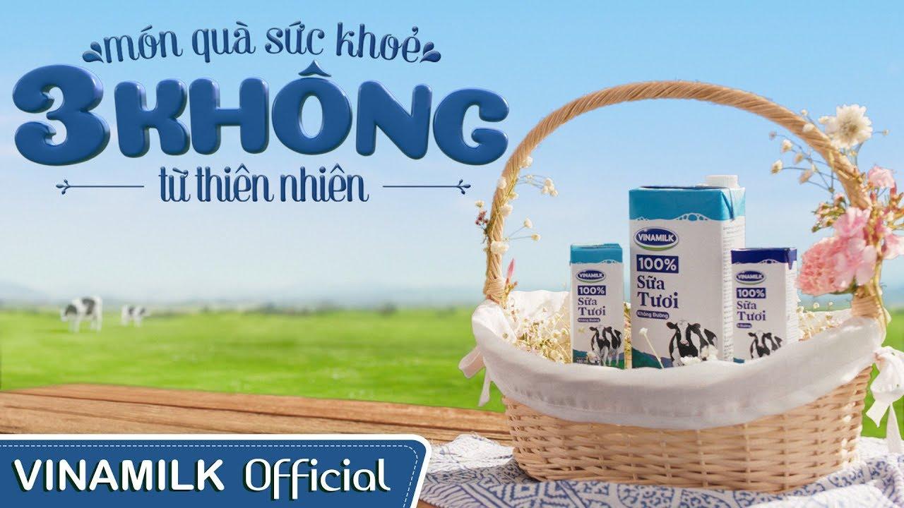 Phim quảng cáo Vinamilk - Sữa tươi 100% - Món quà sức khoẻ 3 Không từ Thiên Nhiên - PQC047