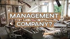 MANAGEMENT COMPANY VS MANAGING RENTAL PROPERTY ALONE