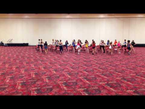 TonyG-Tony Gonzalez Choreography USA/NDA College Chair Routine