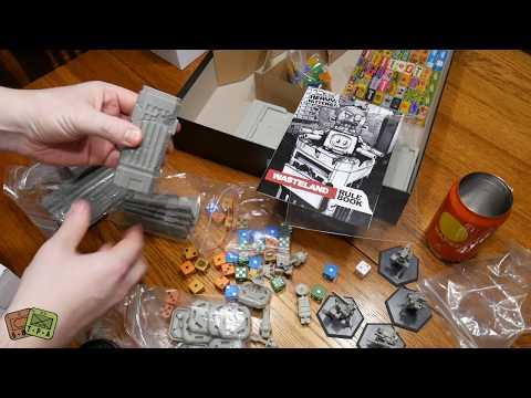 Unboxing: GKR Heavy Hitters! Kickstarter exclusives, add-ons and extras - The Players' Aid