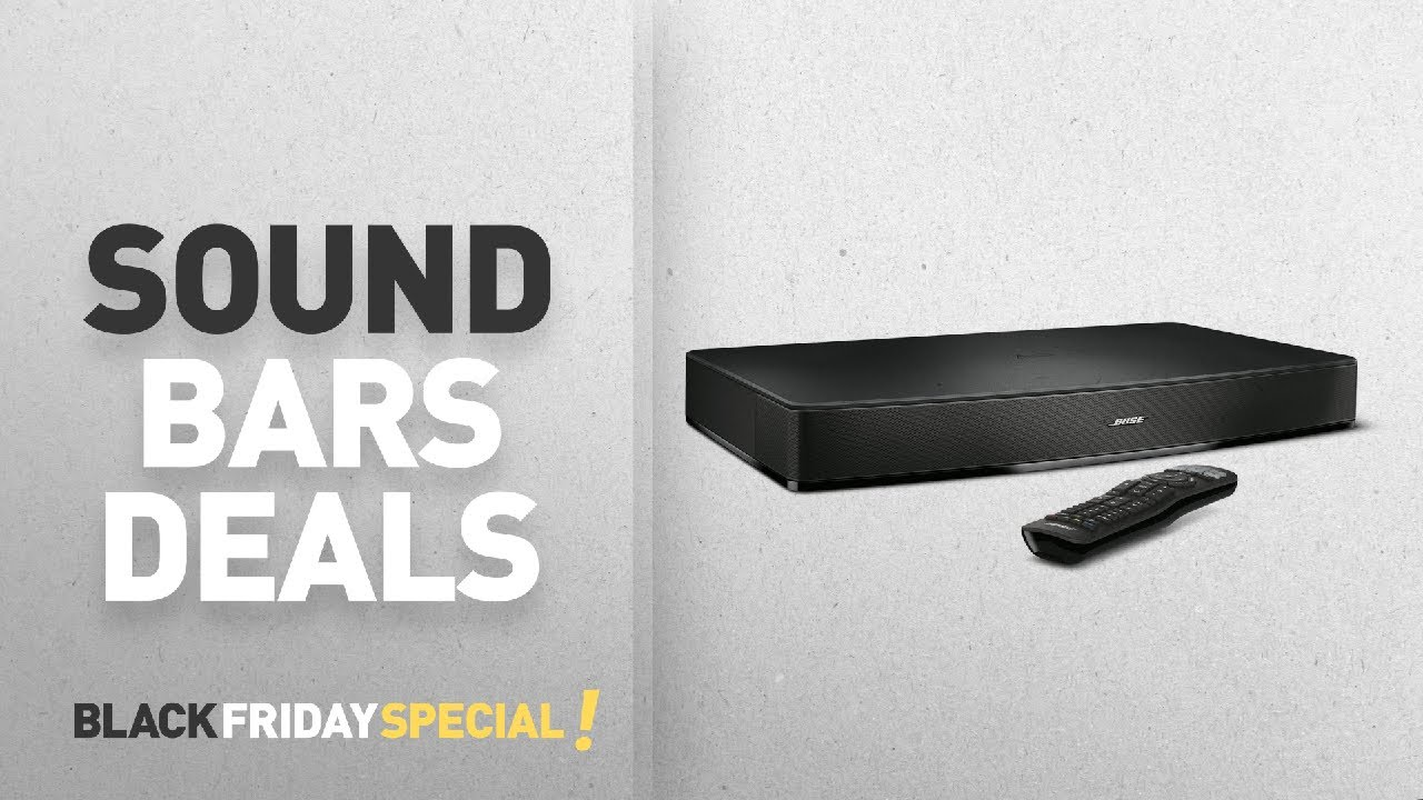 Top Black Friday Sound Bars Deals: Bose Solo 15 Series II TV Sound System