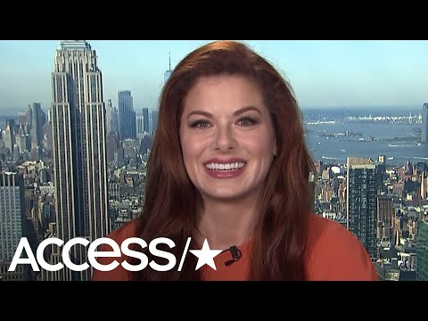 Debra Messing Was 'Concerned' About Coming Back To 'Will & Grace' After 20 Years: 'I'm A Little Curv