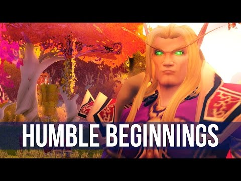 World of Warcraft: Humble Beginnings - Ep. 1! (Let's play World of Warcraft)