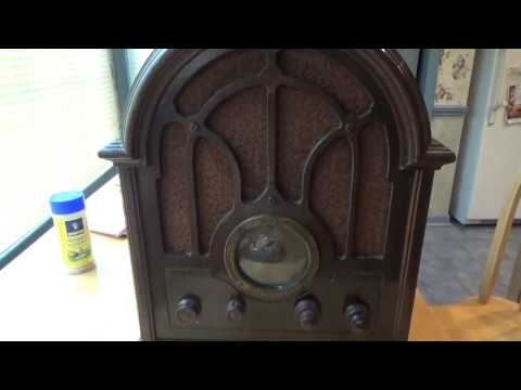My New, GE K-64 Antique Cathedral Radio from 1933
