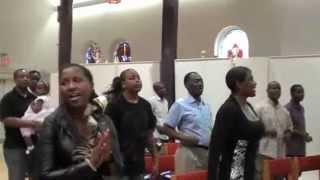 BABA NAOMBA NITEMBEE NAWE MILELE: KGC WORSHIP SERVICE