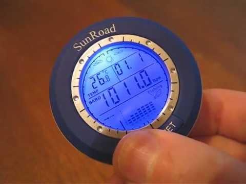 sunroad барометр инструкция