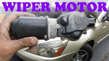 Honda Wiper Motor Replacement