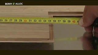 Как правильно положить ламинат. Правила укладки.(Как уложить ламинат видео. Видео по укладке ламинированного паркета Berry Alloc (Берри Аллок). Подробную инструк..., 2013-12-10T08:24:02.000Z)