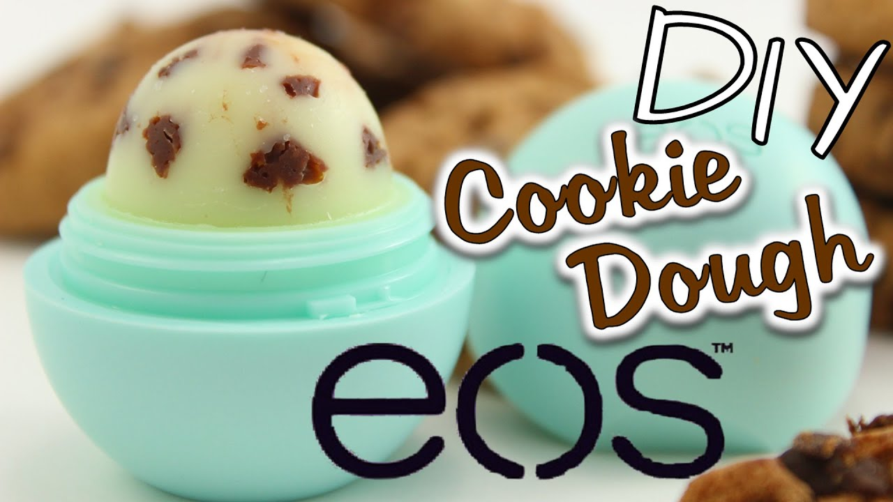 eos selber machen deutsch i diy eos cookie dough lip balm. Black Bedroom Furniture Sets. Home Design Ideas
