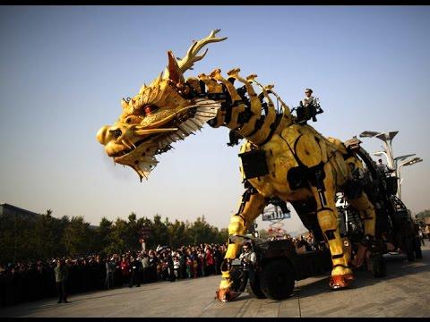 robotic dragon youtube