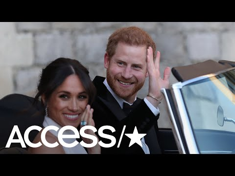 Meghan Markle Stuns In Wedding Reception Look – Get All The Details! | Access
