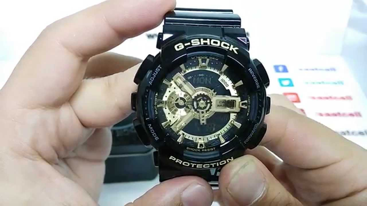 g shock protection zeit umstellen